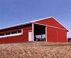 Agriculture Post Frame Building