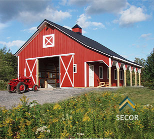 Post Frame Construction Building Materials - Rochester Syracuse Upstate New York